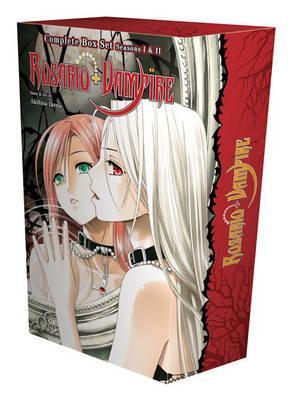 Rosario+Vampire Complete Box Set - Volumes 1-10 and Season II Volumes 1-14 with Premium
