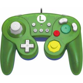 Nintendo Hori Smash Bros Gamepad Luigi