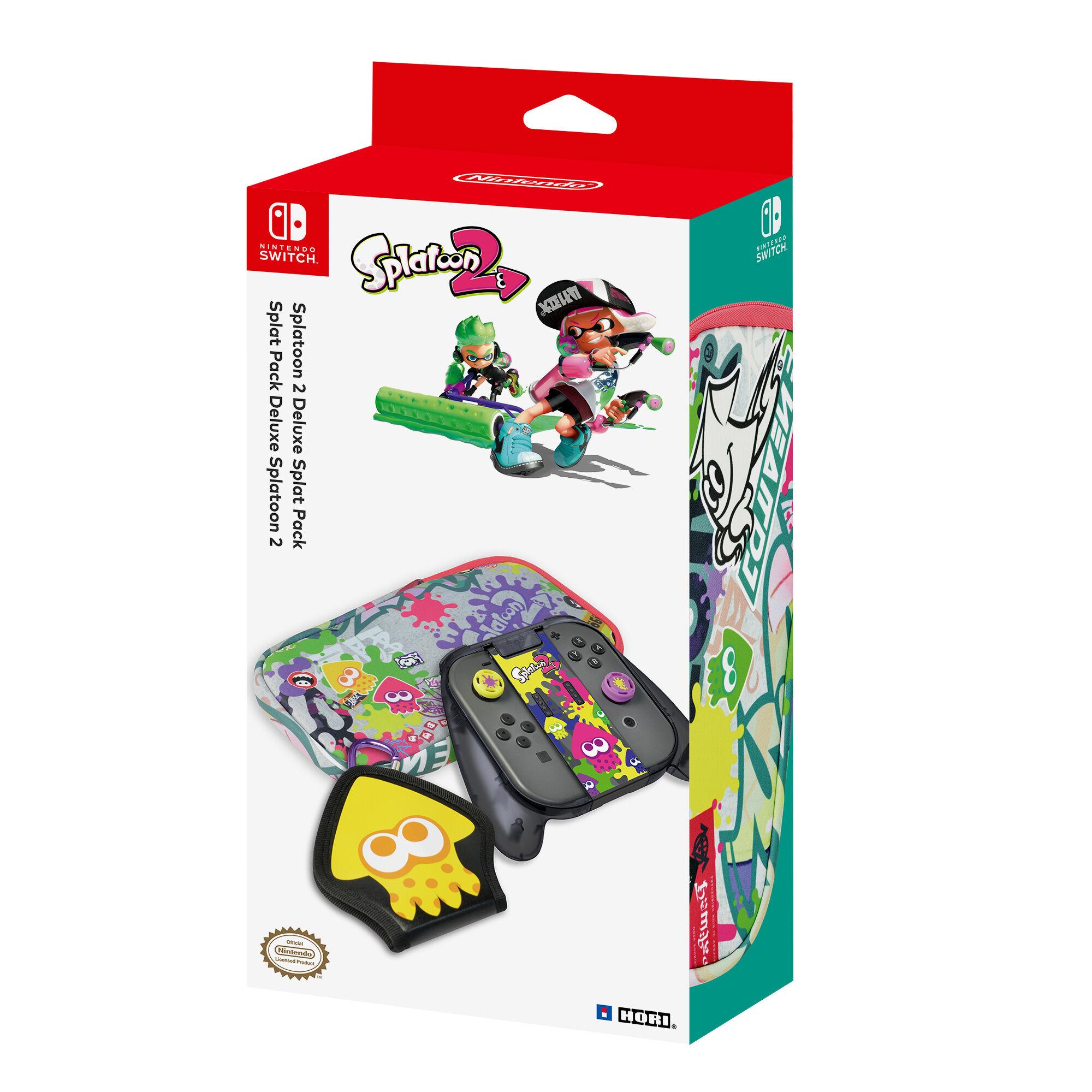 Nintendo Hori Slat Pack Deluxe Splatoon 2