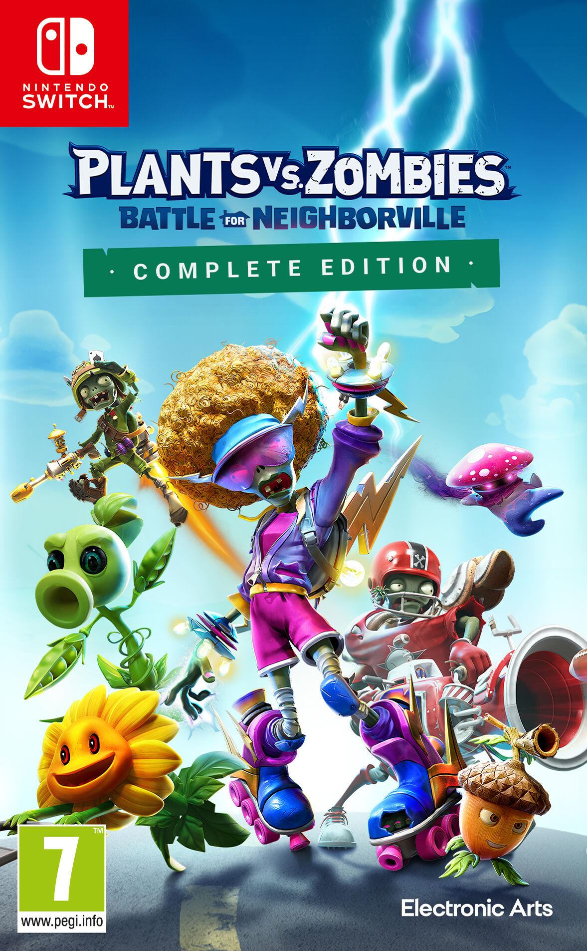 Nintendo Plants vs Zombies Battle for Neighbourville - Complete Edition