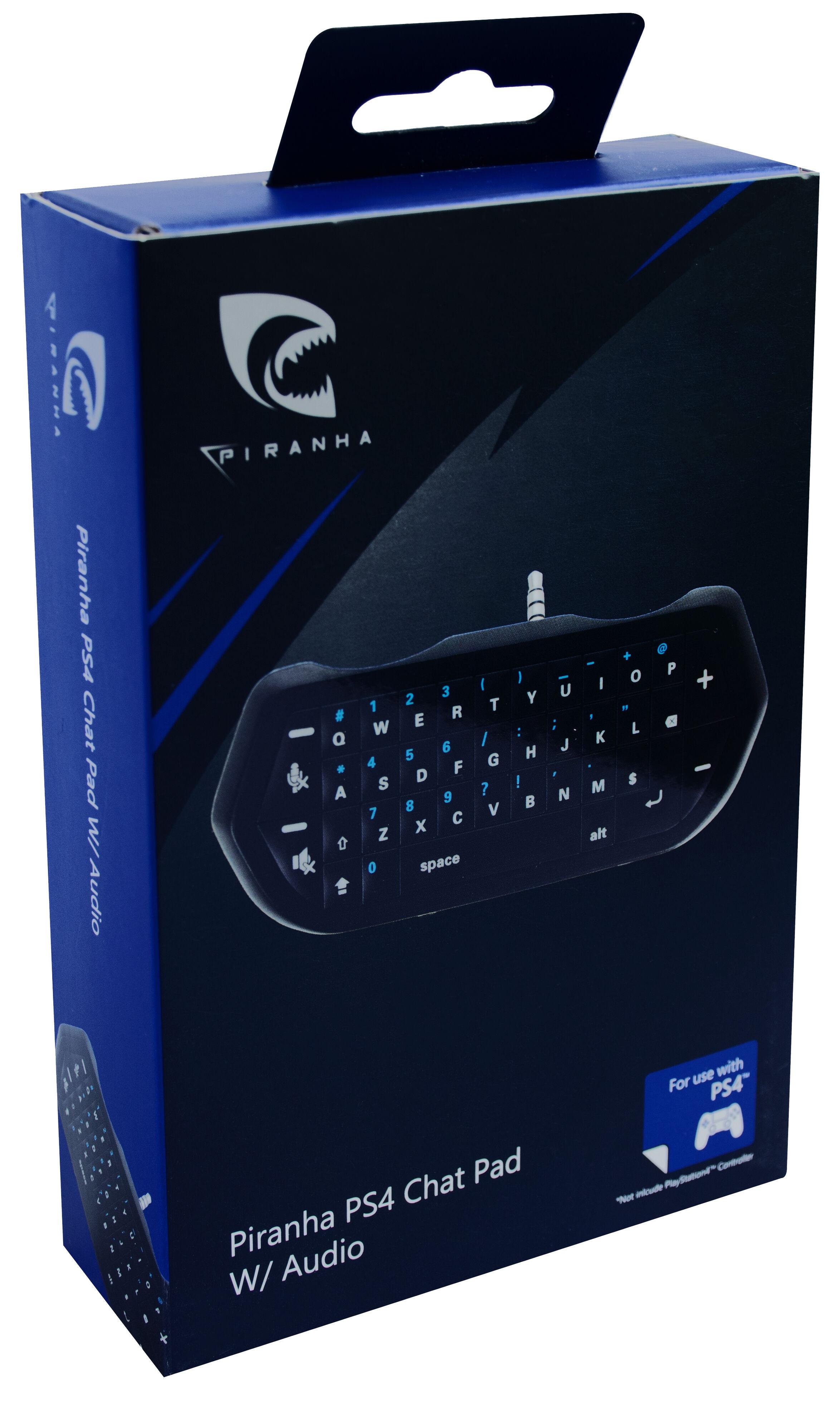 Piranha PS4 Chat Pad w/audio