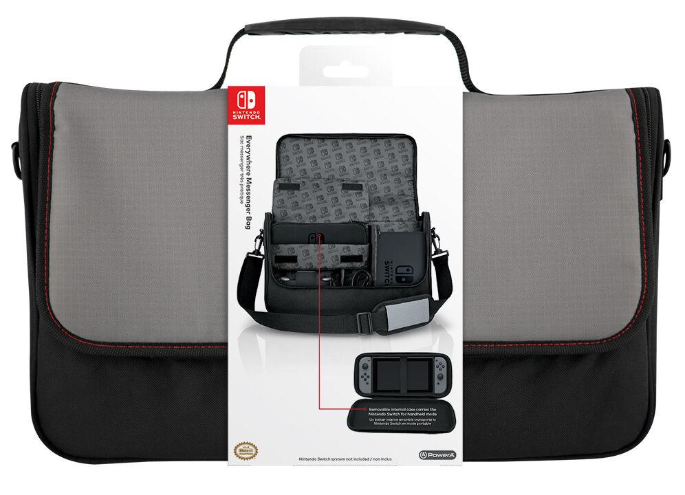 Nintendo Licensed Switch Everywhere Messenger Bag
