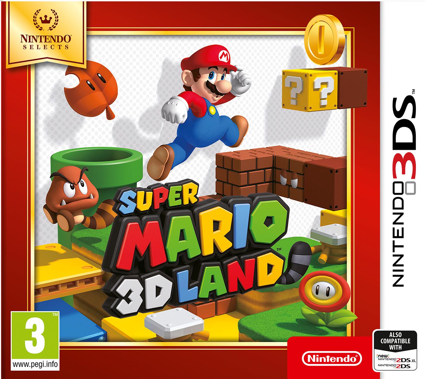Nintendo Super Mario 3D Land - Nintendo Selects