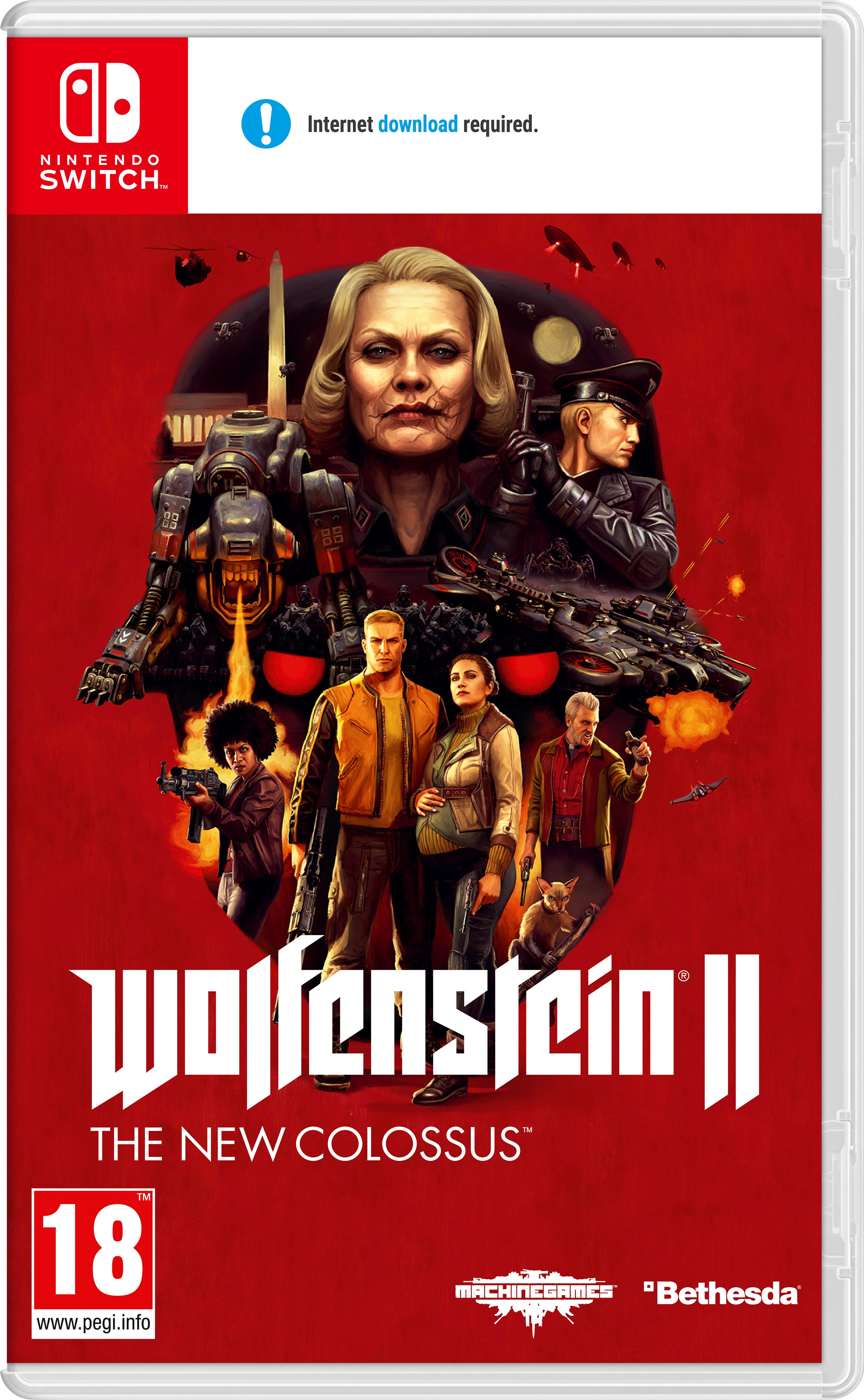 Nintendo Wolfenstein II: The New Colossus