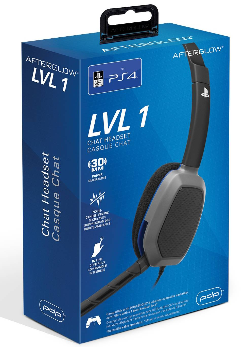 LvL 1 Wired Stereo Headset