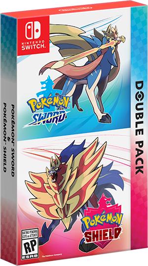 Nintendo Pokémon Sword and Pokemon Shield Dual pack