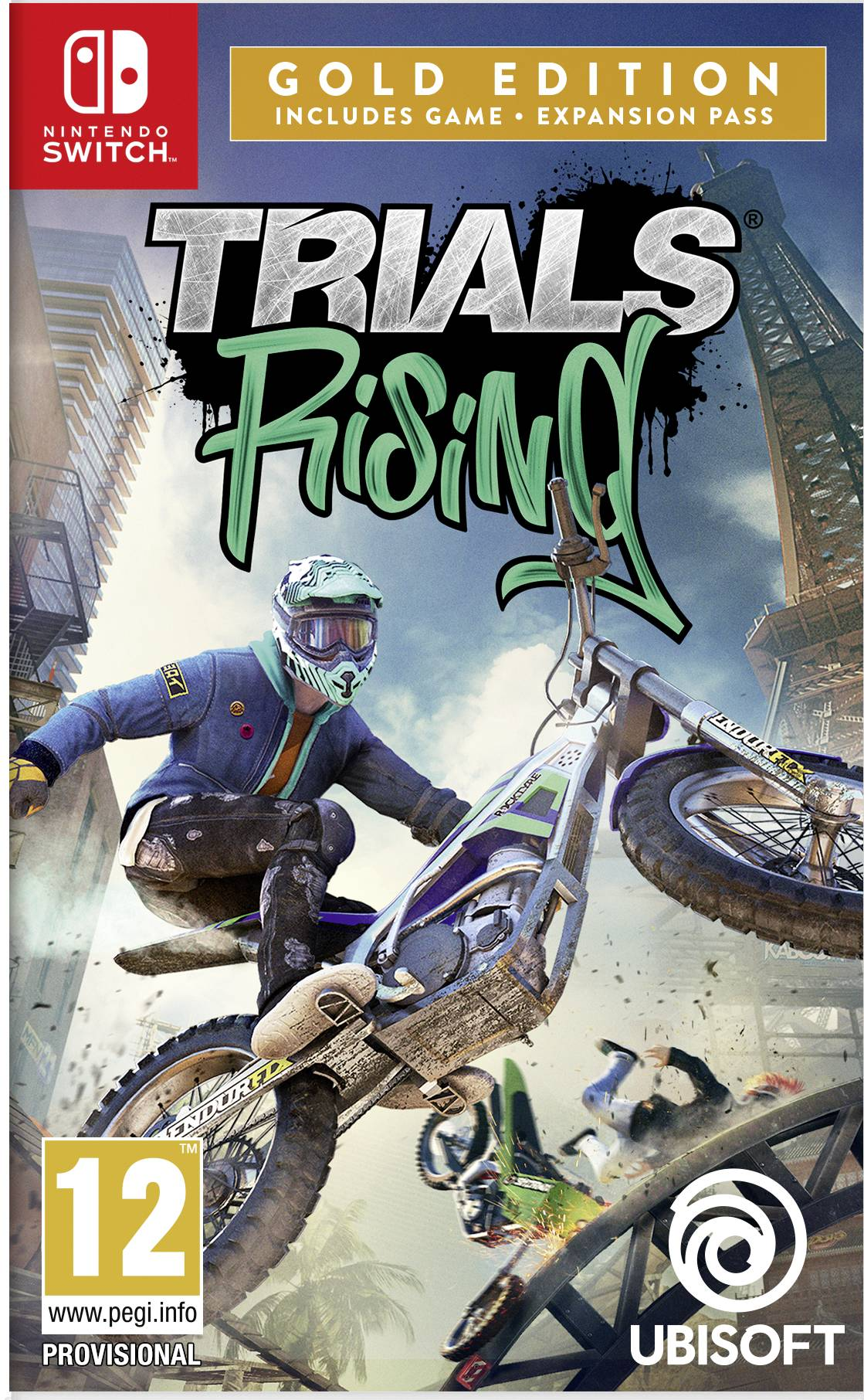 Nintendo Trials Rising - Gold Edition