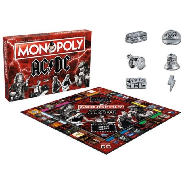 Ac/Dc Monopoly Board Game