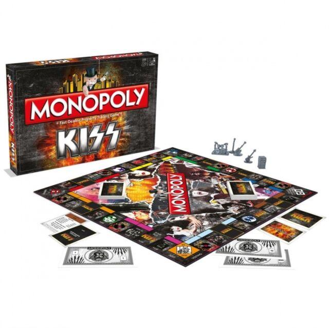Kiss Monopoly Board Game