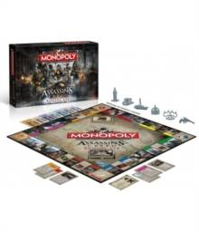 Assassins Creed Monopoly Board Game (UK-import)