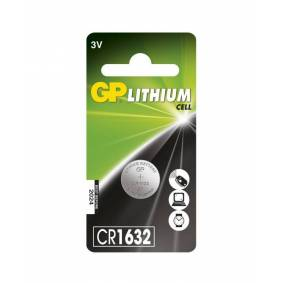 GPBM Nordic Gp Lithium Cell Cr1632-Batteri, 1 Pakk