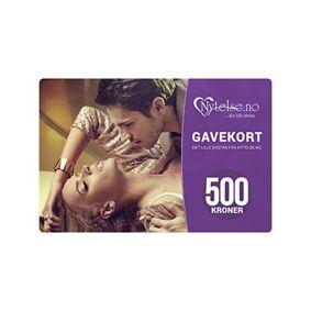 Potent Forte Gavekort 500