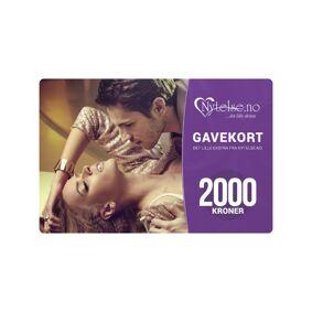 Gavekort Fra Nytelse.No - Kr 2000
