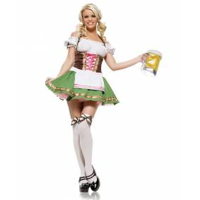 Leg Avenue Gretchen Oktoberfest Kostyme, str. Medium