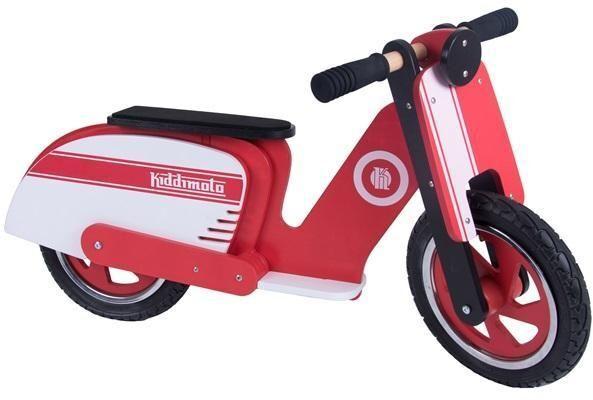 Diverse Kiddimoto Scooter - Rød / Hvit - Løbecykel 720585
