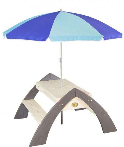 Axi Delta hagebenken med parasoll - Axi gartner 031023