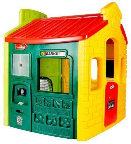 Little Tikes Lekehus med basketsett - Little Tikes Lekehus 444C