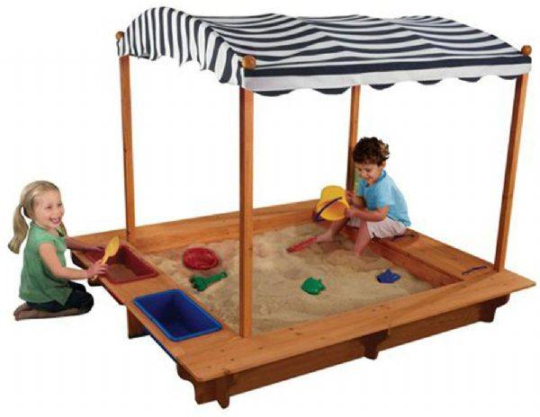 Kidkraft Sandkasse med deksel - Sandkasse 000165