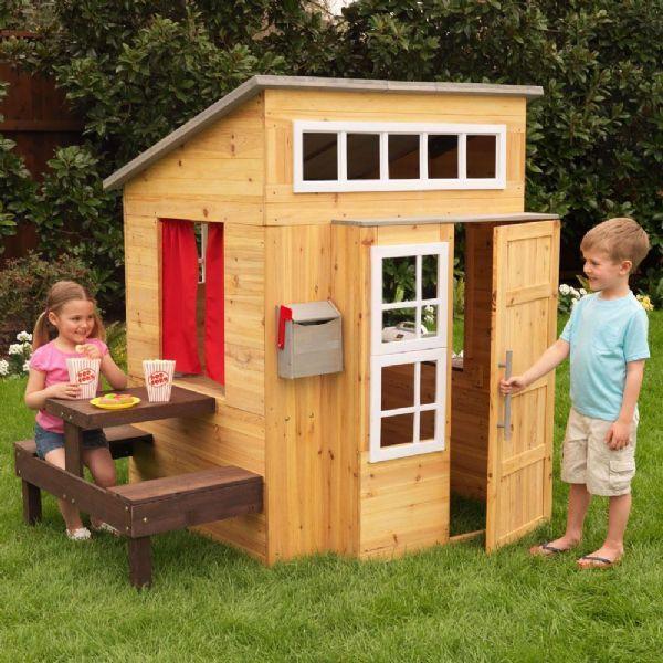 Kidkraft Moderne utendørs lekehus - playhouse kidkraft 000182