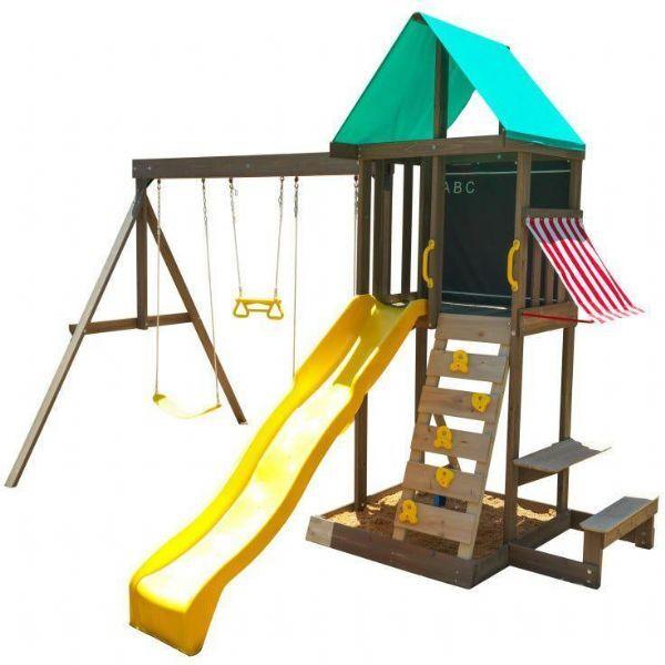 Kidkraft Newport Wood Playhouse - Kidkraft Playhouse 29015