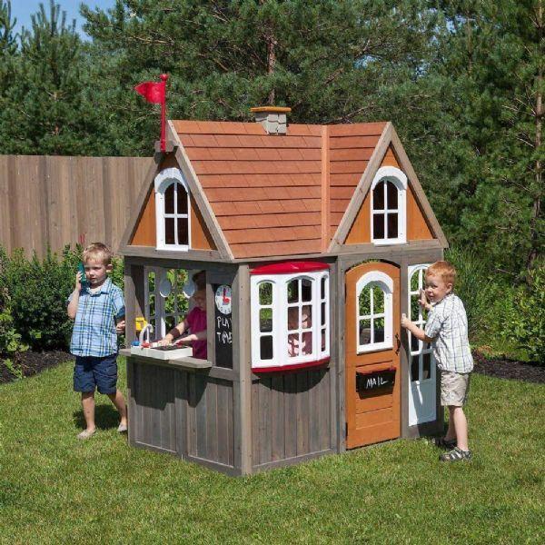 Kidkraft Greystone Cottage Pla - Kidkraft lekehus 280093
