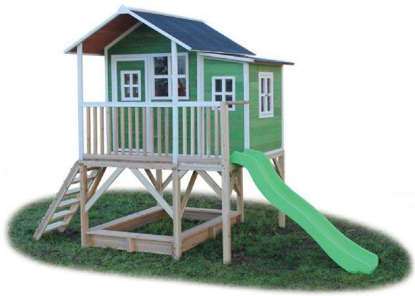 Exit Legehus loft 550 grønn - Exit lekehus 500622