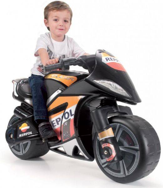 Injusa Repsol elmotorsykkel 6V - El Biler Motorbike Wind Repsol 6V 6461
