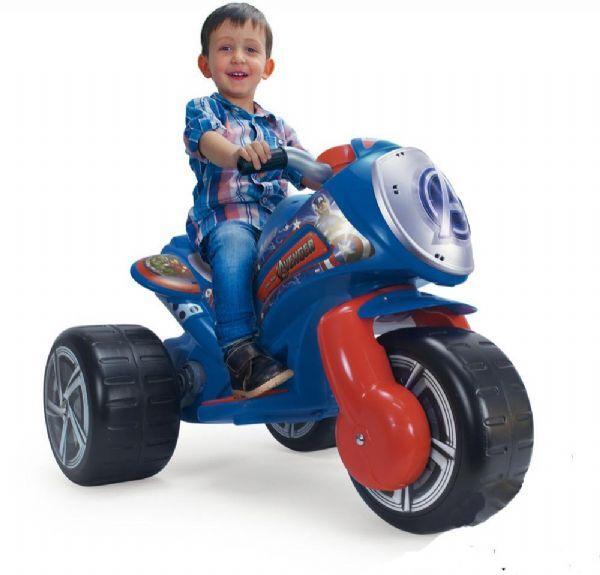 Injusa Avengers El Motorsykkel 6V - El Biler Tribike Waves Avengers 6V 72977