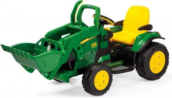 Peg-Pérego John Deere Ground Loader Elbil 12v - Peg-perego el traktor til barn 2131
