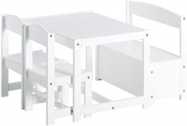 Hoppekids Møbler 1 bord 2 stk barnestol  - Barnas bord / Barnemøbler 1014