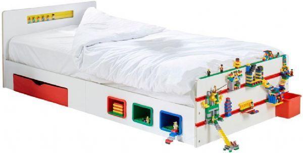 Worlds Apart Byggeklosser Junior seng u / m - Bygge blokk køyeseng 667774