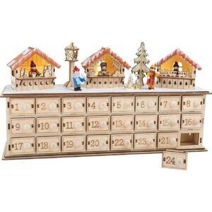 Diverse Julkalender julemarked - Pakke kalenderen treet 1290