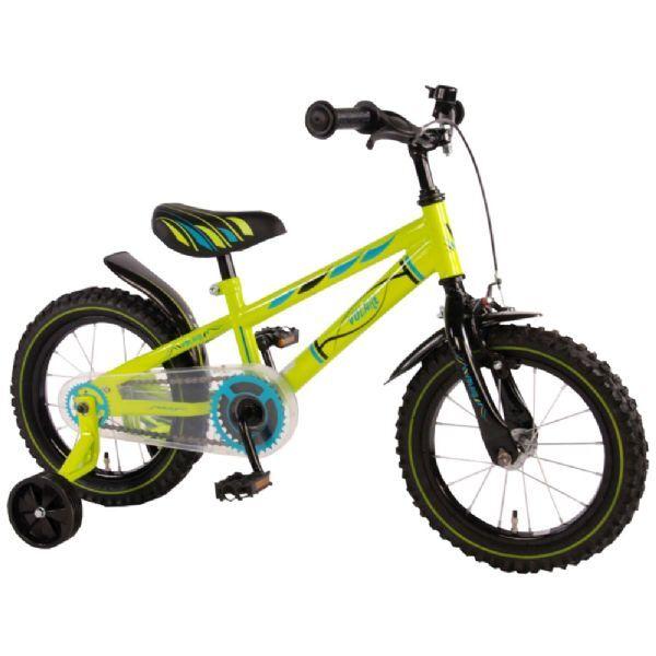 Diverse Barndom Elektrisk Grønn 14 tom - Barnesykkel 714344