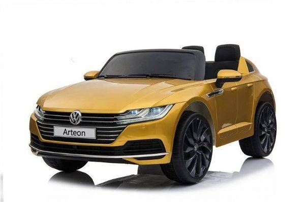 VW ARTEON 12V Gul - Elektrisk bil for barn 001098