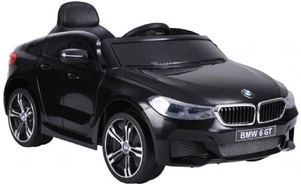 BMW 6 GT Black 12V - Elektrisk bil for barn 001128