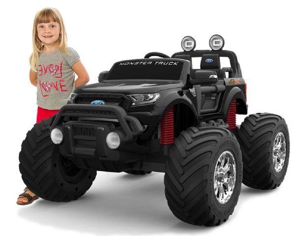 Ford Ranger Monster Truck 4X12 - Elektrisk bil for barn 001135