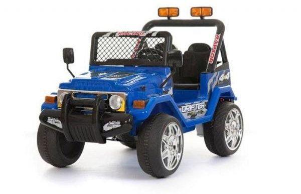 Azeno 12v blå bøffel - Elektrisk bilgummihjul 461823