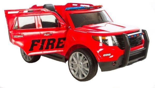 Azeno 12V SUV Brann - Elektrisk bil for barn 993515
