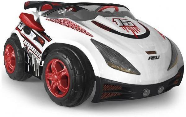 Injusa Hvit Racer Imove Elektrisk Bil - Injusa Elbil 7521