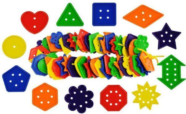 Bigjigs Geometri og figurer satt 444 d - Bigjigs Games diverse 670194