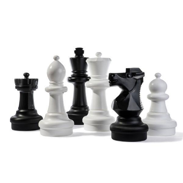 Rolly Store Sjakk brikker 43 til 63 cm - Rolly Toys Hage Sjakk 218707