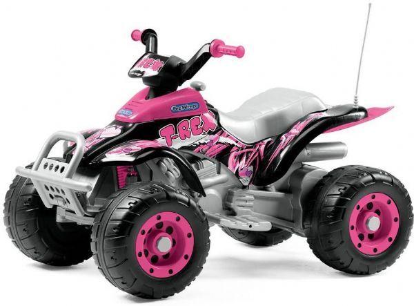 Peg-Pérego Corral T-Rex 12V Pink - Peg-Perego Elektriske biler IG