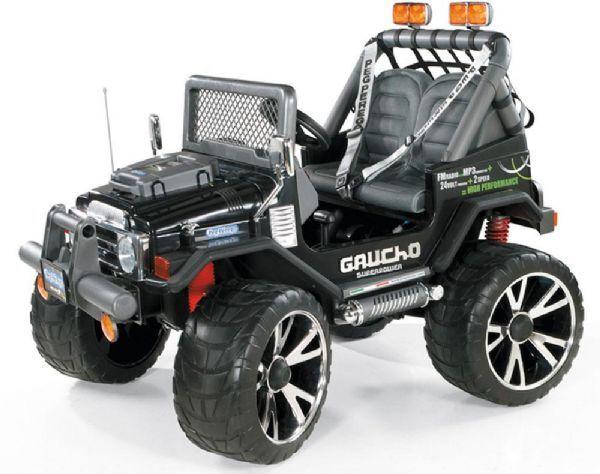Peg-Pérego Peg perego Gaucho superkraft 2 - elektrisk bil peg perego 00050