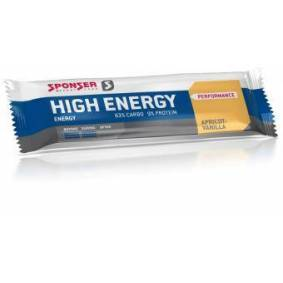 Sponser Sport Food High Energy Bar Vanilla/Apricot