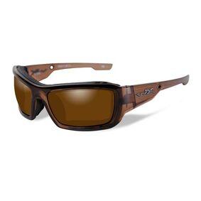 Wiley X Knife Polished Bronze-Brown Crystal Frame solbriller