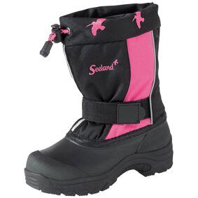 Seeland Solda Kids Pac 7 sort/rosa str. US K13/EUR31