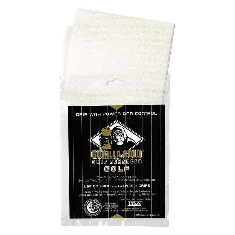 Gorilla Gold Golf Non-Toxic Grip-Enhancing Reusable Golf Towel