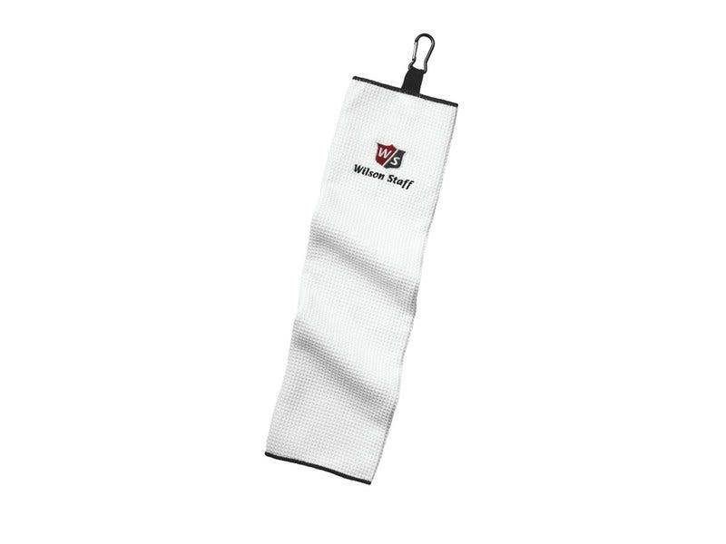 Wilson Staff Microfiber Trifold Towel-White