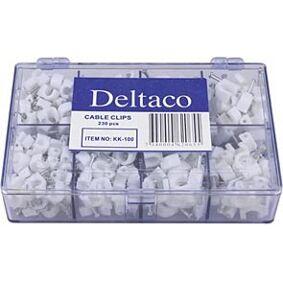 Deltaco Kabelklemmer R 230 stk