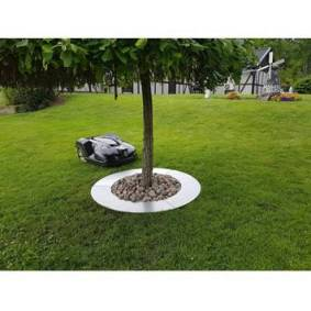 Sony Ericsson Ventura Tree ring 90cm for lawn movers metal unpainted